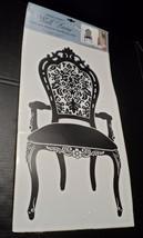 Wall Decal Mural Vinyl Peel & Stick Large Art Decor Chair Silhouette DIY Ganz - $18.68
