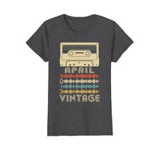 Funny Shirts - Vintage Retro Made In April 2013 5th Birthday Gifts 5 yrs Wowen - $19.95+