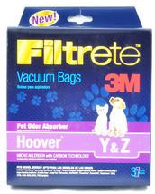 Hoover Y, hoover Z vacuum Cleaner Bags T4732 - $4.68