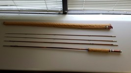 Vintage Fishing Pole SouthBend 359 4 piece 9' South Bend with case - $189.42
