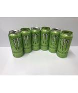 Monster Energy Drink Ultra Paradise 16oz Cans Silver & Gre Top. Total 6 ... - $28.99