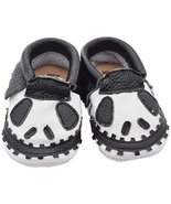 Unique Baby Limited Edition Genuine Leather Halloween Moccasins Jack Ske... - $16.99