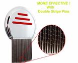 1PC Stainless Steel Terminator Lice Comb Nit Free Kids Hair Rid Headlice Super D