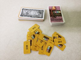 2008 Life Pirates Caribbean Dead Mans Chest Game Replacement Cards & Money - $9.99