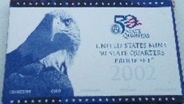 2002 State Quarter's Proof Set  - $9.99