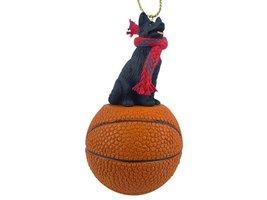 German Shepherd Black Basketball Ornament - $17.99