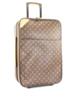 Authentic LOUIS VUITTON Pegase 55 Monogram Canvas Travel Rolling Suitcas... - $1,225.00