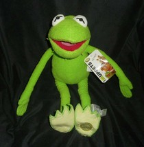 """15"""" Disney Store Muppets Green Kermit The Frog Stuffed Animal Plush Toy W/ Tag - $28.05"""