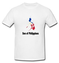 Son of Philippines Filipino Flag Country T-shirt New White S, M, L, XL, XXL - $20.00