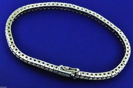 Princess Cut Diamond Channel Set Tennis Bracelet Anniversary Gift Womens... - $229.99