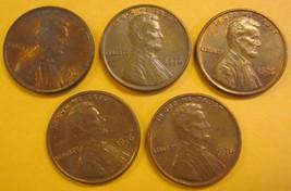 1976 Lincoln Memorial Penny 5 Pieces #9 - $1.00