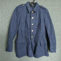 Vintage Swiss Army Medic Wool Coat Military Jacket Women's XS - $50.00