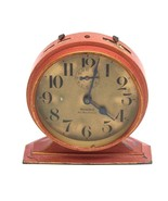 1927 Rare Antique Westclox Big Ben De Luxe Alarm Clock Rose Gold Crackle - $341.10