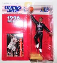 NBA Starting Lineup 1996 Alonzo Mourning Miami Heat HOF Collectible SLU B5 - $9.99