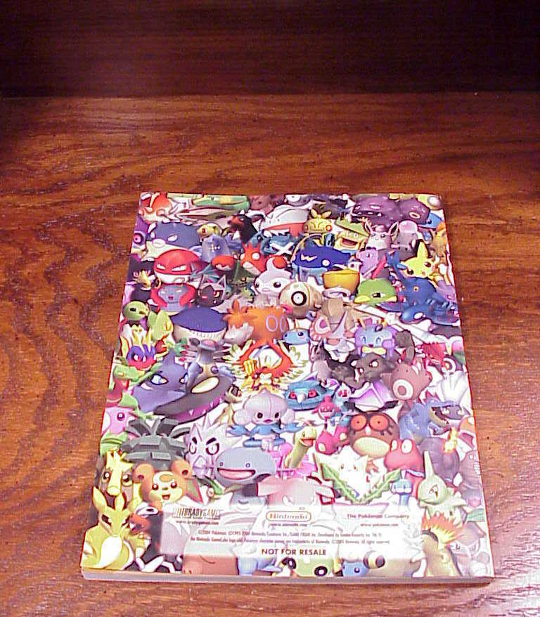 Pokemon Colosseum Official Strategy Guide Book