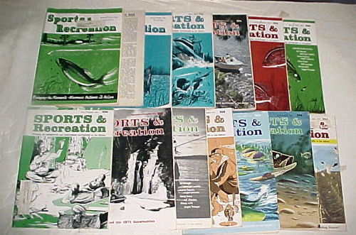 14) ISSUES-1969-1977 SPORTS & RECREATION MAGAZINE: HTF!