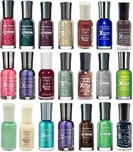 10 Sally Hansen Hard as Nails Xtreme Wear 10 Polish's All Different Colo... - $19.59