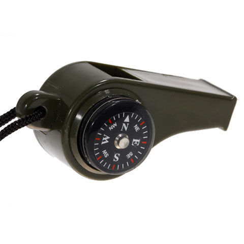 NEW Multi-function Thermometer and Compass Whistle 3-in-1