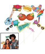 Luau Photo Stick Props (12 Pack) - $9.47