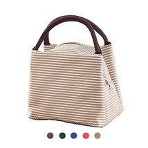 Lunch Bag, Insulated Lunch Box Storage Container Picnic Tote Large Coole... - $14.55