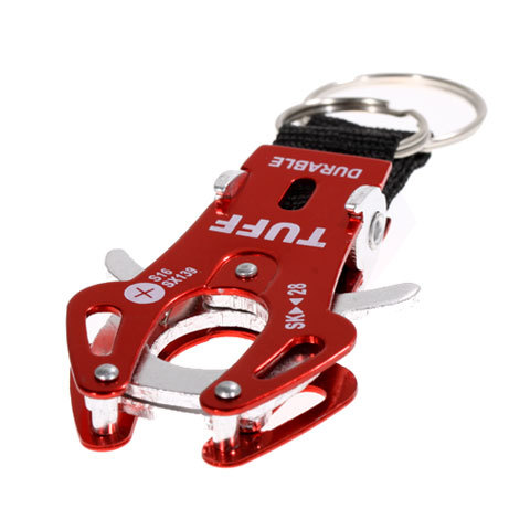 Portable and Mountaineering Aluminum Alloy Tiger Buckle