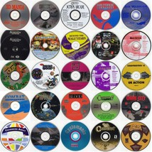 Choose 64 from 125 Game Titles (Less Than $1.00 ea) w/FREE 64 CD/DVD Wallet! - $58.98