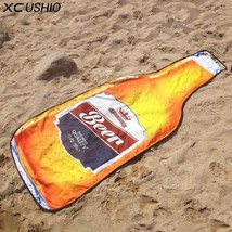 1 Piece NEW  STYLE Microfiber 180*72 cm Creative Beer Bottle Beach Towel - $29.99