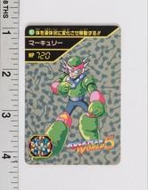 Rockman World 5 Trading Card #187 BANDAI CAPCOM 1994 Mega Man - $3.84