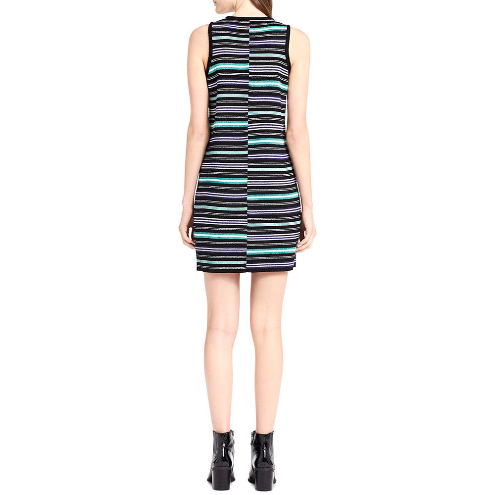 Calvin Klein  Women's Jeans Striped Sweater Dress Size Medium