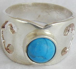 Primary image for Turquoise silver ring