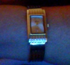 Gold-Tone Bracelet Watch