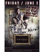 REAL WORLD LAS VEGAS WRAP PARTY @ GALLERY Nightclub Vegas  - $1.95