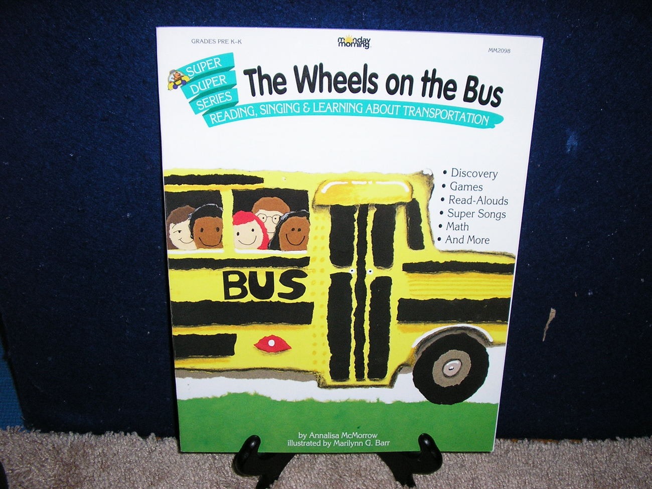 Wheels on the Bus Super-Duper Series by Annalisa McMorrow