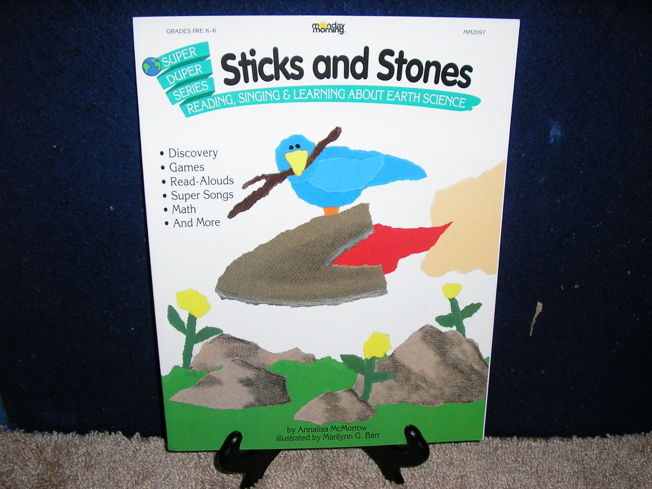 Sticks and Stones Super-Duper Series by Annalisa McMorrow