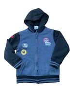 Mickey Mouse Hybrid Apparel Sherpa Fleece Lined Hooded Jacket Big Boys 8/Small - $15.84