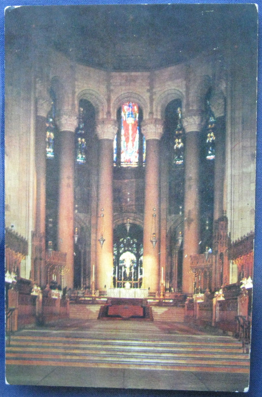 Custom Studio, Full Bleed Postcard, Cathedral of St. John th