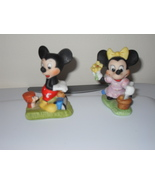 Disney Mickey and Minnie Mouse Figurines - $14.99