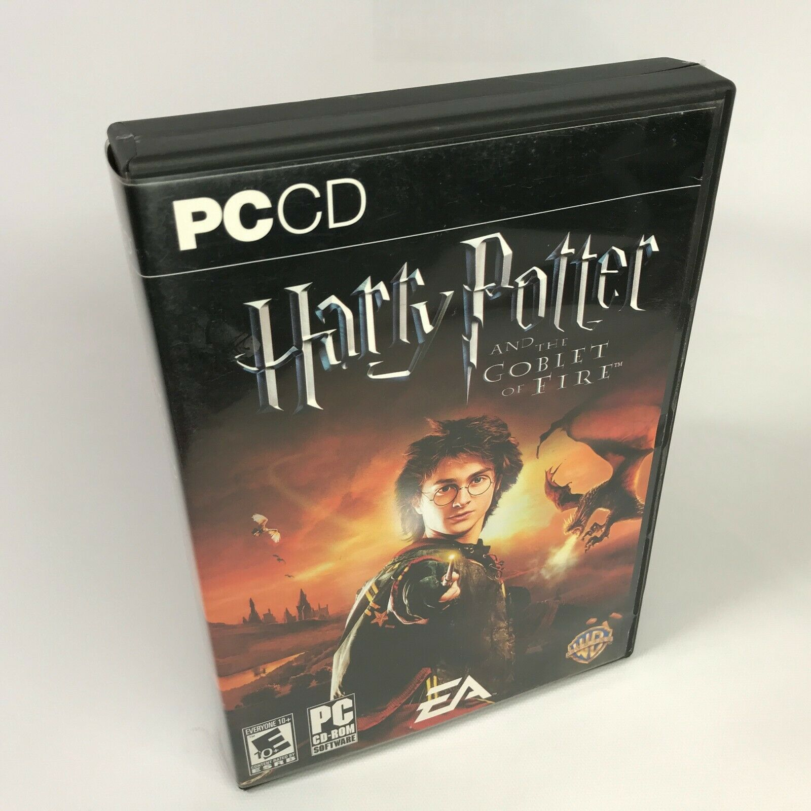 Harry Potter and the Goblet of Fire PC CD-ROM COMPLETE IN BOX CIB Manual EA DVD - $14.85