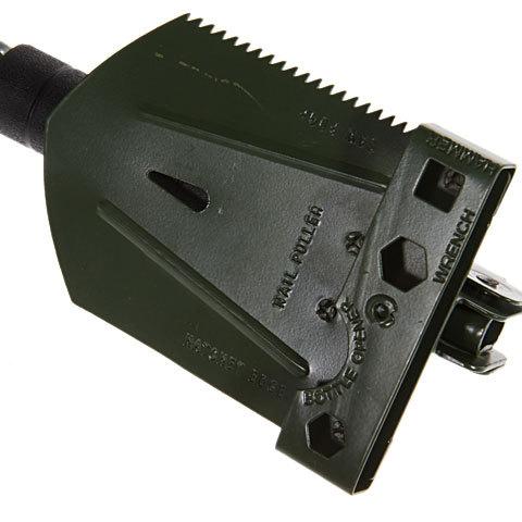 Wilderness Survival Steel Detachable Shovel with Compass