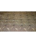 Black Beige Print Damask Upholstery Fabric  F377 - $27.20