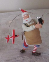2009 Christmas Toymaker Santa Hallmark No 10 in Series Ornament - $8.79