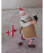 2009 Christmas Toymaker Santa Hallmark No 10 in Series Ornament - $10.99