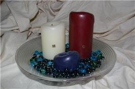 PARTYLITE Orbit 3 Wick Pillar Holder RETIRED Party Lite - $13.00