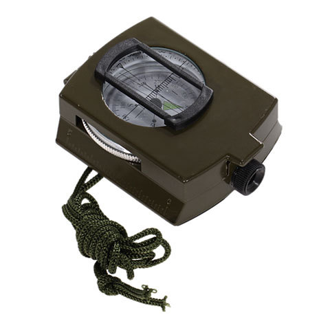 Metal Prismatic Compass - Military Compass - Outdoor Camping
