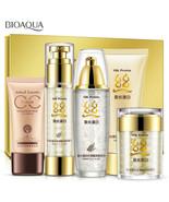 BIOAQUA Silk Protein Cream Lotion Toner Cleanser Concealers Foundation 5... - $28.49