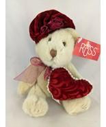 """Russ Li'l Duchess Tan Bear Push Sits 6"""" Stuffed Animal Toy - $4.46"""