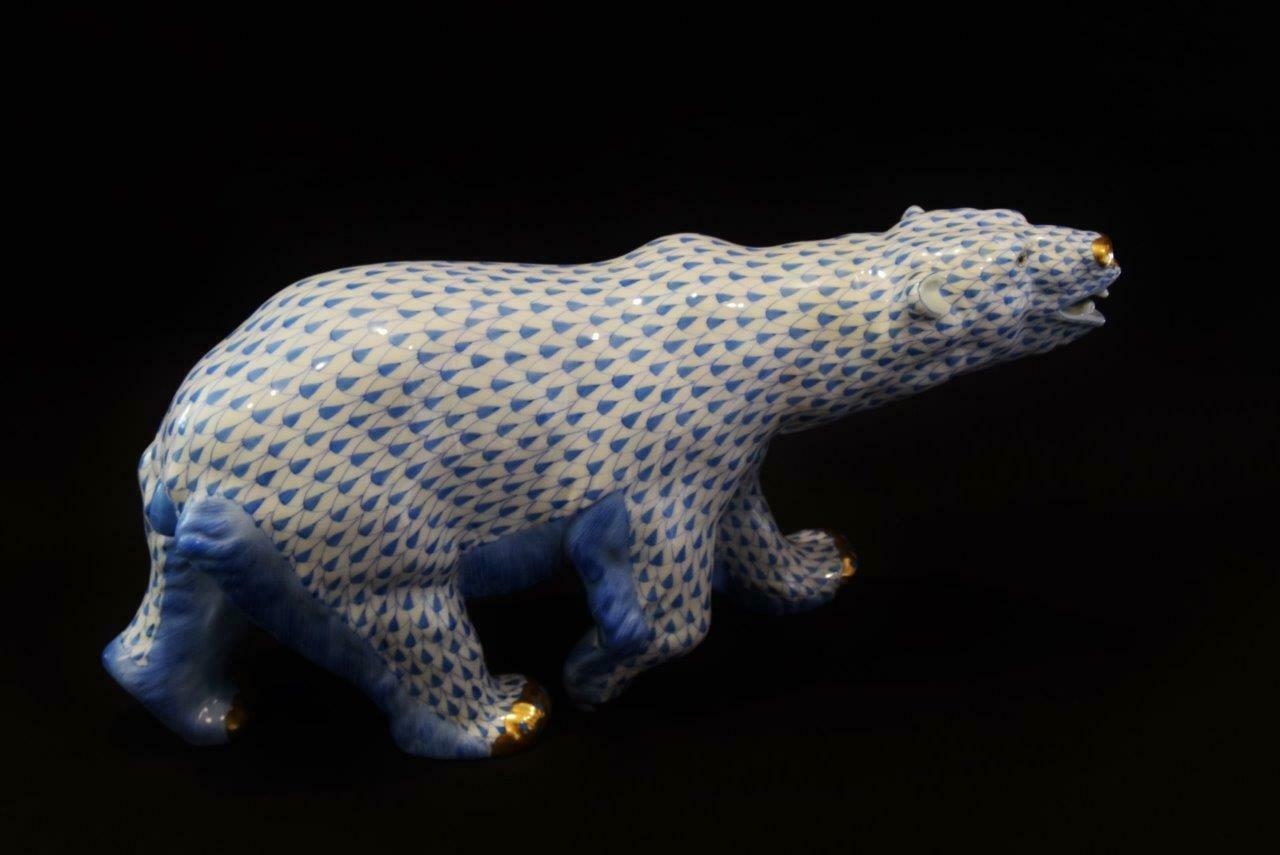 Herend Porcelain Polar Bear, First Edition Series, SVHB...5299-000