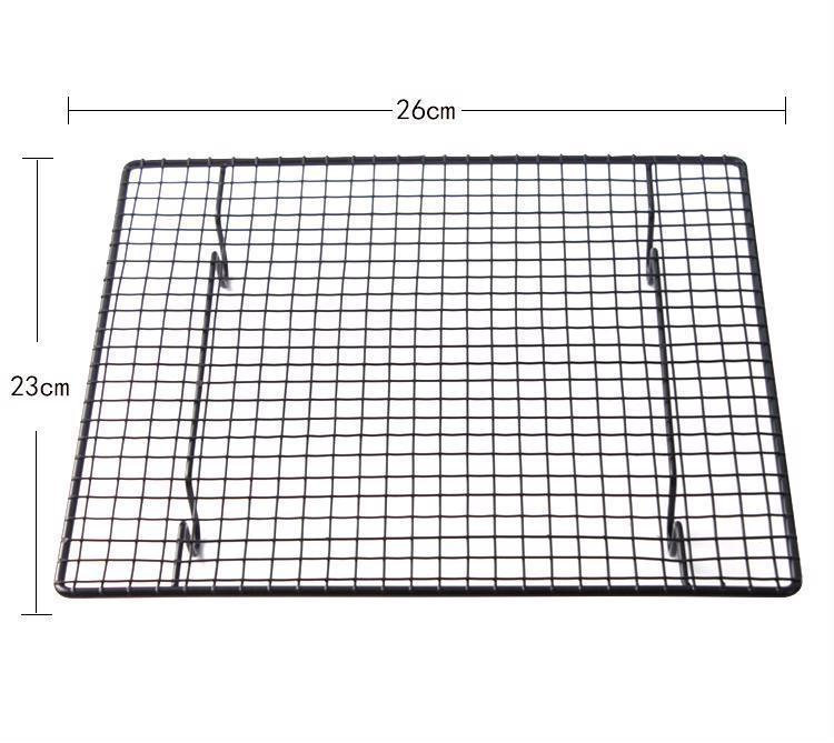 Nonstick Cake Cooling Rack Bakery Tools Drying Stand Carbon Steel Material Rack