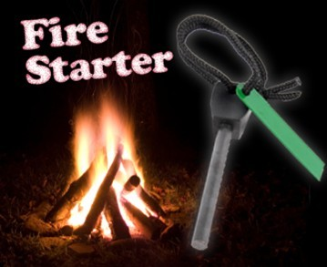 Emergency Fire Starter for Camping Survival Free Shipping