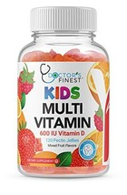 Doctors Finest Multivitamin Gummies for Kids, Vegetarian, GMO-Free & Gluten Free